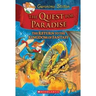 Geronimo Stilton The Qurst for Paradise