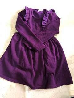 6-8 yo girl winter dress