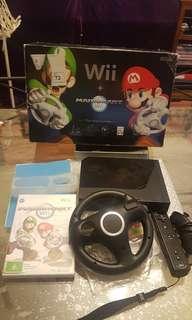 Wii Mario Kart bundle +free multiplayer game!