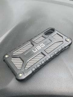 UAG Monarch Premium iPhone X Protective Case - Carbon Fibre