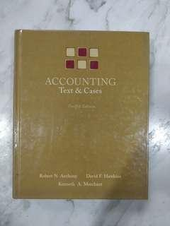 ACCOUNTING TEXT & CASES (12TH EDITION)
