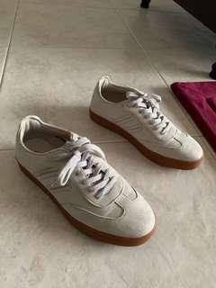 Cheap Brand New ZALORA Sneakers Suede Shoes Size 40