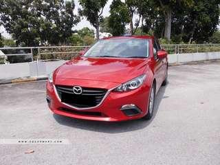 Mazda 3 $500 per month after rebate
