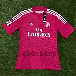 ORIGINAL ADIDAS REAL MADRID 2014-15 AWAY JERSEY BNWT