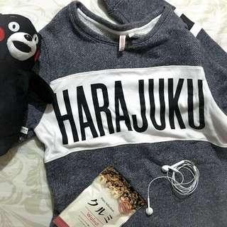 Penshoppe Harajuku knitted sweater dress