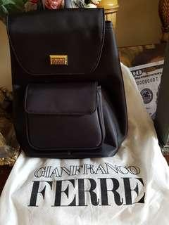 GIANFRANCO FERRE  backpack authentic