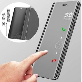 Nova 3i Flip Mirror Case CAN answer call