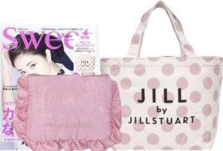 🚚 Lovely sweet Jill Stuart Lunch Tote with coin purse