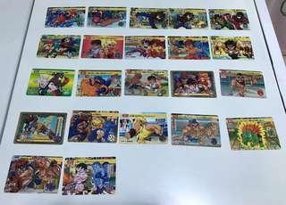 街頭霸王卡片(22張橫卡)