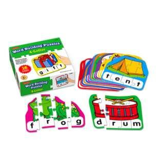 Playground 4-Letter Word Building Puzzle