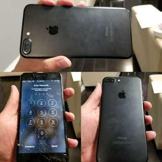 Buy!  Iphone 7 Plus buy back damaged / cracked