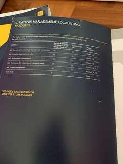 CPA: Strategic Management Accounting