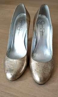 金銀色4吋高跟鞋
