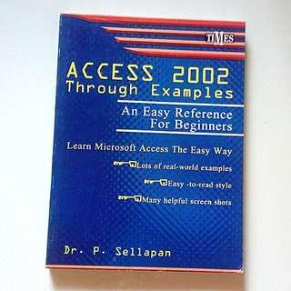 Access 2002 Through Examples
