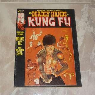 Deadly Hands Of Kung Fu 1975 Bruce Lee Special Issue Comic Magazine Neal Adams Art Cover