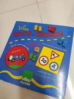 Car Race board game in French