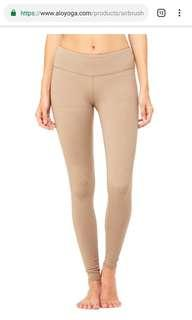 Alo Yoga Pants nude colour size M