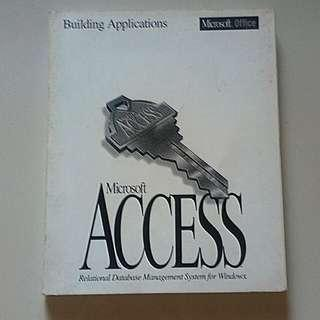 Microsoft Access Building Applications
