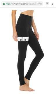Alo Yoga pants black size M