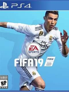 PS4 FIFA 2019 (99%new have code 中英版)