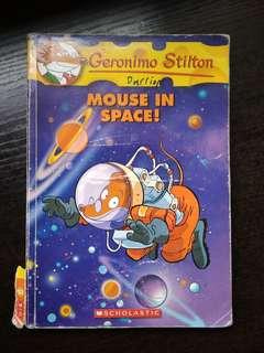 Geronimo Stilton Mouse In Space