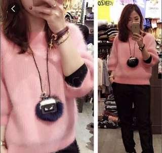 Korea pink 冷衫