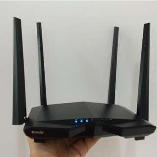 NEW Dual Band Wireless Router - Tenda AC1200 AC6 for UniFi Time Maxis Fibre