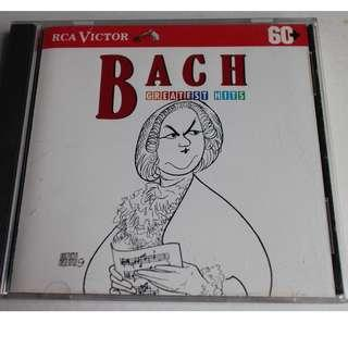 CD,,BACH,巴哈..GREATEST HITS..RCA VICTOR RECORD MADE IN USA