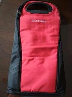 Jacob's Creek neoprene wine / champagne carrier bag with cooler lining