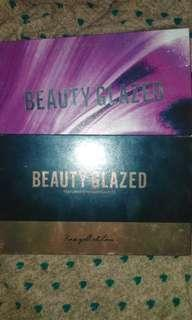 Beauty Glazed I got you and rose gold edition eyeshadow palette