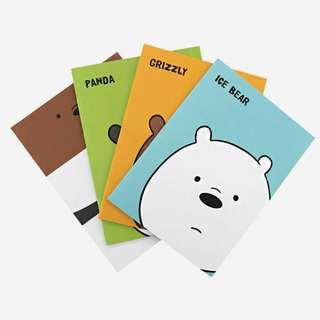 [PO]🍑We Bare Bears Face Note #G03