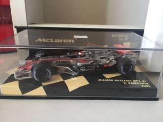 McLaren formula 1 k. Raikkonen 2006