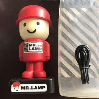 Mr Lamp portable lamp light