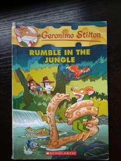 Geronimo Stilton Rumble In The Jungle