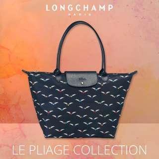 🚚 |  LONGCHAMP  |  LE PLIAGE CHEVAUX AILES  |  2605 & 1899 | S & L Size Tote Bags