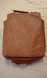日韓風文青人造皮手袋