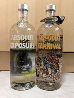 Selling Absolut Vodka Karnival and Absolut Vodka Exposure