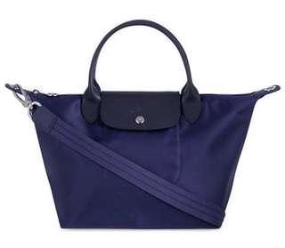 Longchamp Neo Small Handbag Navy 1512578556
