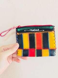Sabah Handmade Rainbow Purse Wallet