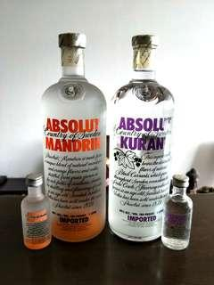 ABSOLUT-ly FREE (miniature 50ml)