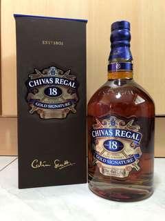 Selling Chivas Regal 18 Years
