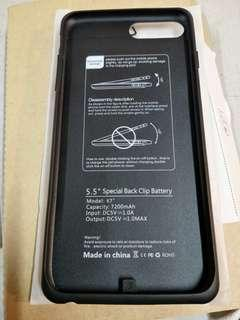 7200mAh Rechargeable Battery 5.5'' Special Back Clip Battery