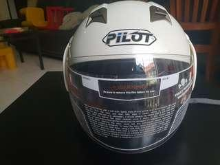 Pilot Helmet with visor