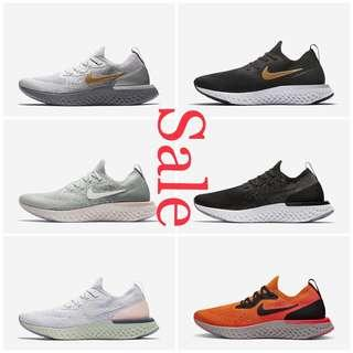 SALE!Women Nike Epic React Flyknit| $188 BELOW RETAIL $229 Ending Jan 6,2019