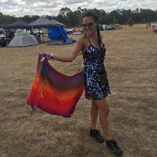 Festival Sequin dress (RENTING ONLY)