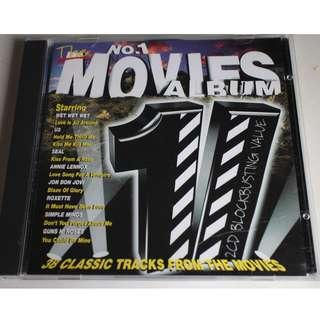 2CD..THE NUMBER ONE MOVIES ALBUM..GUNS N' ROSES,U2,BEE GEES,ELTON JOHN,THE WHO,DAVID BOWIE,IRENE CARA...