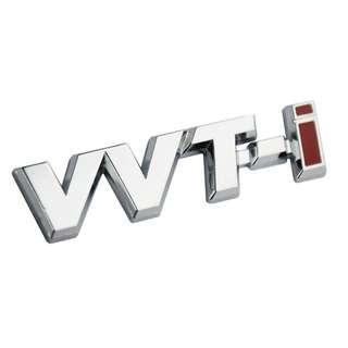 Chrome Metal VVTI VVT-I Trunk Emblem Badge for Toyota Models
