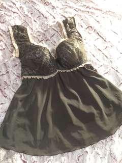 🚚 SAVVY莎薇專櫃品牌 馬甲式內衣👙睡衣 情趣內衣