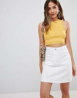 Missguided Knitted Crop Top