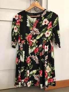 Missguided flower dress